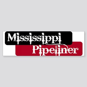 Mississippi Pipeliner Bumper Sticker